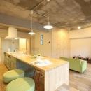 kulaboの住宅事例「キッチンが出迎える家」