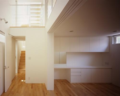 西久保の家~竹屏風の家の部屋 ホール