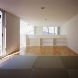 西久保の家~竹屏風の家 (ロフト)