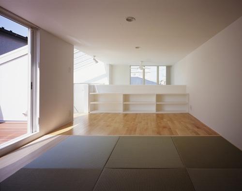 西久保の家~竹屏風の家の部屋 ロフト