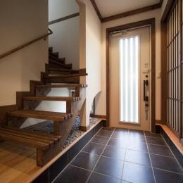 和楽の家 (玄関の土間空間)
