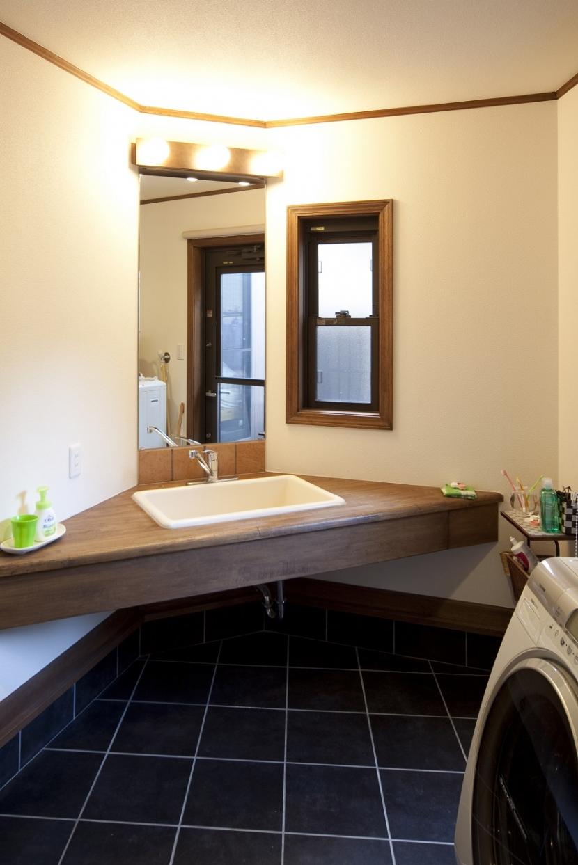 和楽の家の部屋 洗面脱衣室