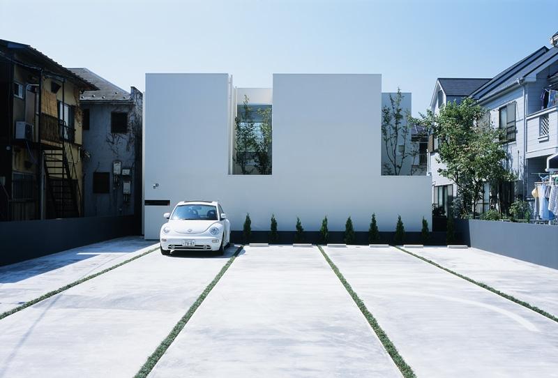 新小岩の家~4つの中庭のある家