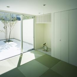 新小岩の家~4つの中庭のある家 (和室2)