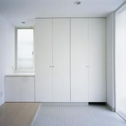 下井草の家~スキップフロア+ルーフガーデンの家 (玄関1)