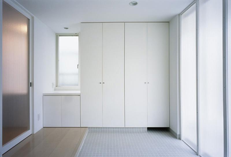 下井草の家~スキップフロア+ルーフガーデンの家の写真 玄関1