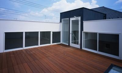 下井草の家~スキップフロア+ルーフガーデンの家 (ルーフガーデン)