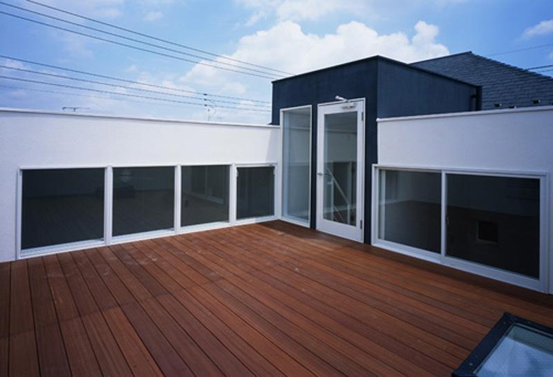 下井草の家~スキップフロア+ルーフガーデンの家の写真 ルーフガーデン