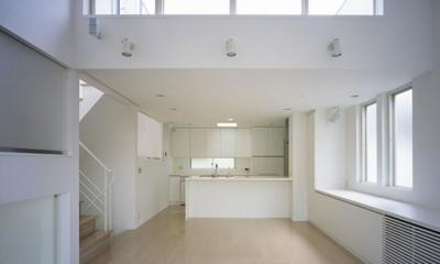 下井草の家~スキップフロア+ルーフガーデンの家 (LDK1)