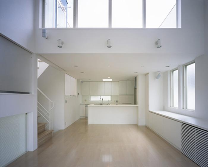 下井草の家~スキップフロア+ルーフガーデンの家の写真 LDK1