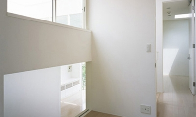 下井草の家~スキップフロア+ルーフガーデンの家 (書斎)