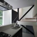 アトリエのあるスキップフロアの家 OUCHI-03の写真 キッチン