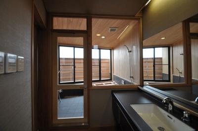 浴室 (那須の別荘)