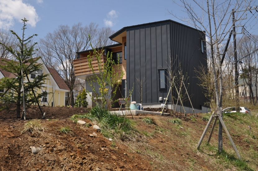 那須の別荘 (外観)