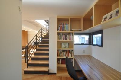 書斎 (裏の裏は表の家)