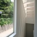 アトリエのあるスキップフロアの家 OUCHI-03の写真 階段