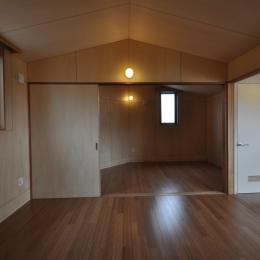 那須の別荘 (寝室)