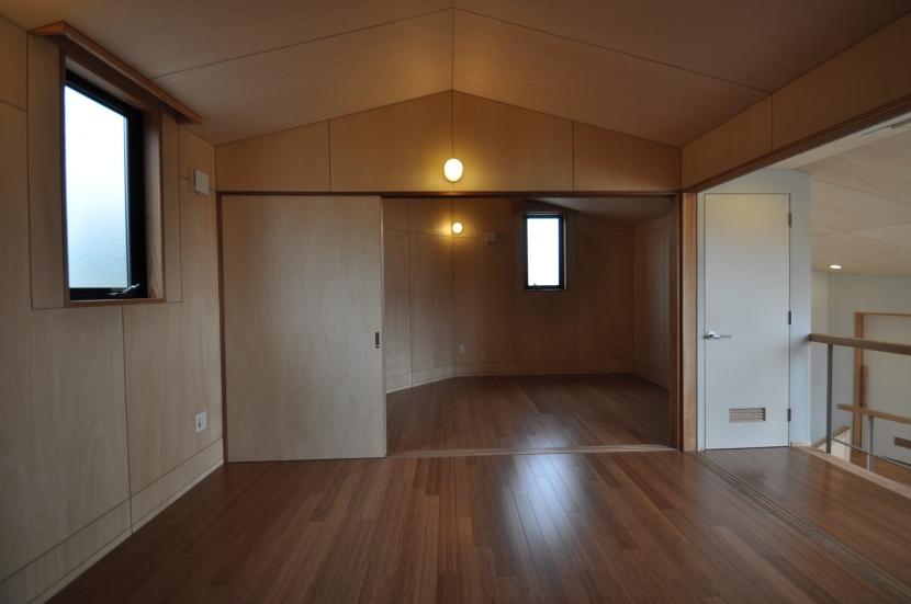 那須の別荘の部屋 寝室