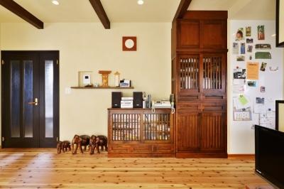 暮らしが活きる 大人の古民家風リノベ―ション (手持ちの家具を、新しい家の「顔」に)