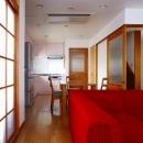 栃木県宇都宮市の鉄骨造3階戸建てリフォーム SS-houseの写真 リビング