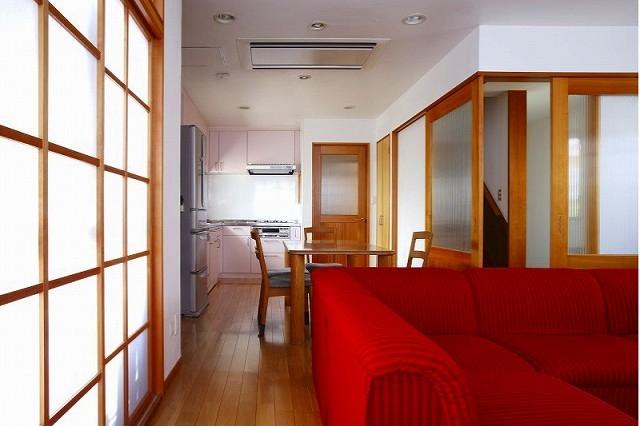 栃木県宇都宮市の鉄骨造3階戸建てリフォーム SS-house