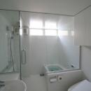 アトリエのあるスキップフロアの家 OUCHI-03の写真 バスルーム
