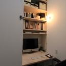 アトリエのあるスキップフロアの家 OUCHI-03の写真 アトリエ内書斎