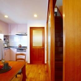 キッチン (栃木県宇都宮市の鉄骨造3階戸建てリフォーム SS-house)