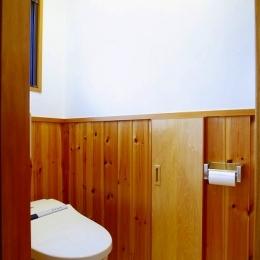 トイレ (栃木県宇都宮市の鉄骨造3階戸建てリフォーム SS-house)