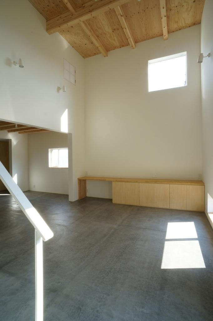 上堀の家の部屋 リビング01