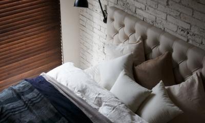 上品なラフ空間 (ベッドルーム)
