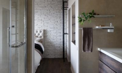 バスルーム|上品なラフ空間
