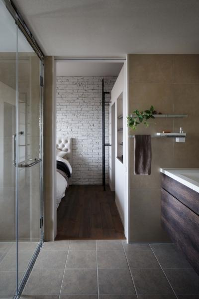 バスルーム (上品なラフ空間)