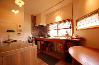キッチン (喫茶店の雰囲気が残る家)