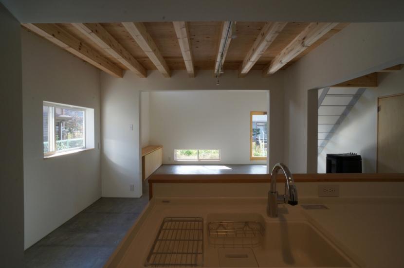 上堀の家の写真 キッチン・ダイニング・リビング