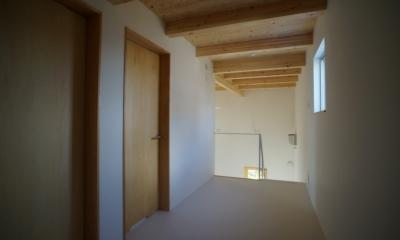 上堀の家 (2階ホール)
