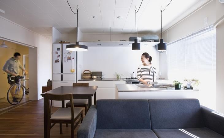 リフォーム・リノベーション会社:株式会社リビタ「板橋区S邸_団地を買ってリノベーション」