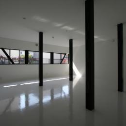 オウチ02・鳥取の家 (柱の位置で3つに分割する想定の子供室)