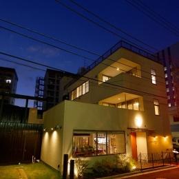 東京都大田区Y様邸 ~中庭のあるレストラン~