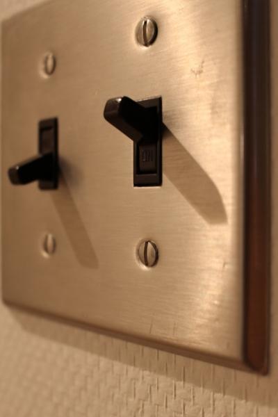 スイッチ (デザインだけじゃない!動線にもこだわったノンストレスなマンションリノベーション。)