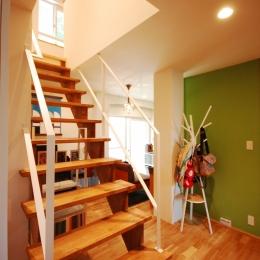 戸建てのリノベーションは最高! (階段)