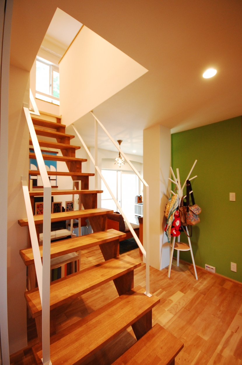 戸建てのリノベーションは最高!の部屋 階段