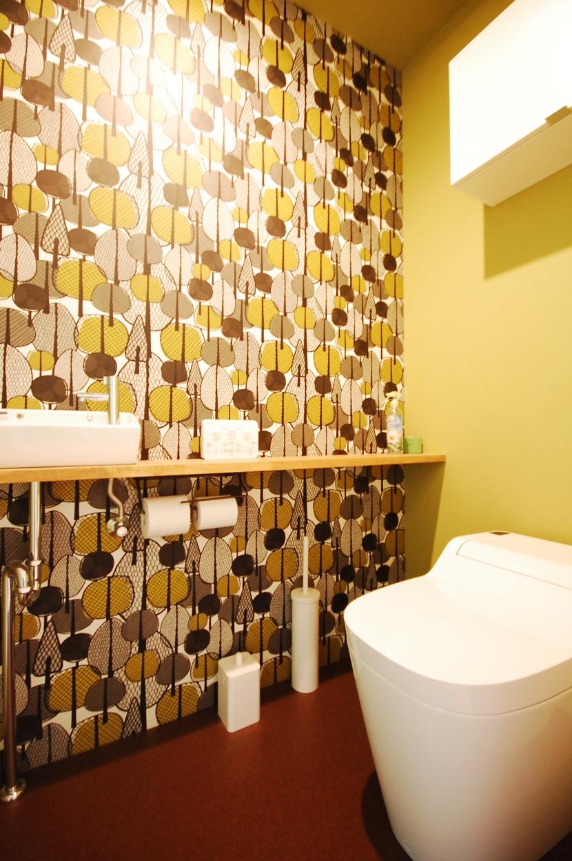 戸建てのリノベーションは最高!の部屋 トイレ