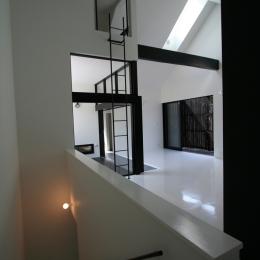 オウチ02・鳥取の家 (階段)