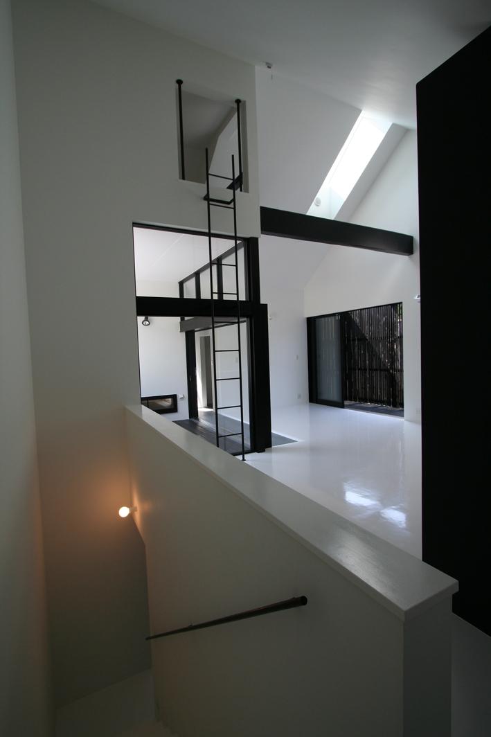 オウチ02・鳥取の家の写真 階段