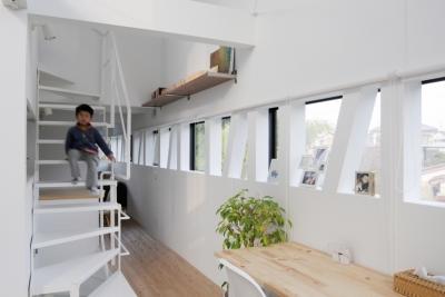 七国山の家 (廊下)