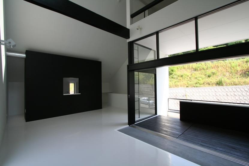 オウチ02・鳥取の家の写真 リビング