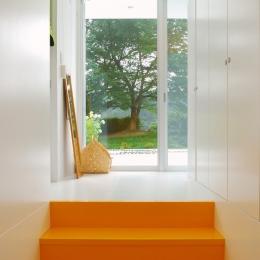 菅野邸 (玄関)