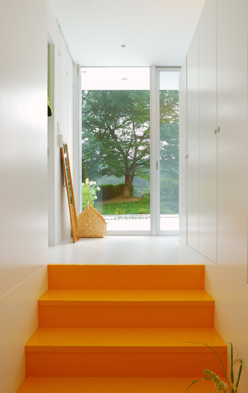 菅野邸の部屋 玄関