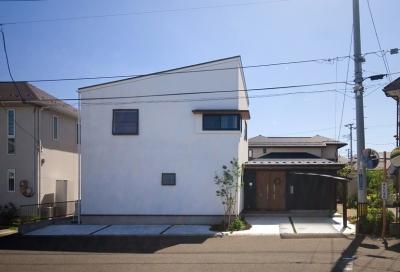 明石台の家 (外観全景)